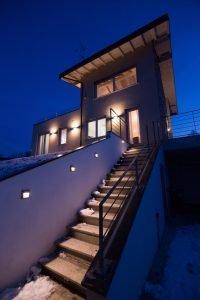 Scala-Notte-Casa-X-Lam-Bodio-Lomnago-Varese-Building-Serv