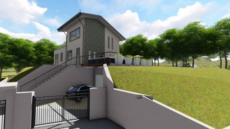 Ingresso-Casa-X-Lam-Bodio-Lomnago-Varese-Building-Serv