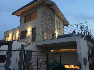 Ingresso-Notte-Casa-X-Lam-Bodio-Lomnago-Varese-Building-Serv