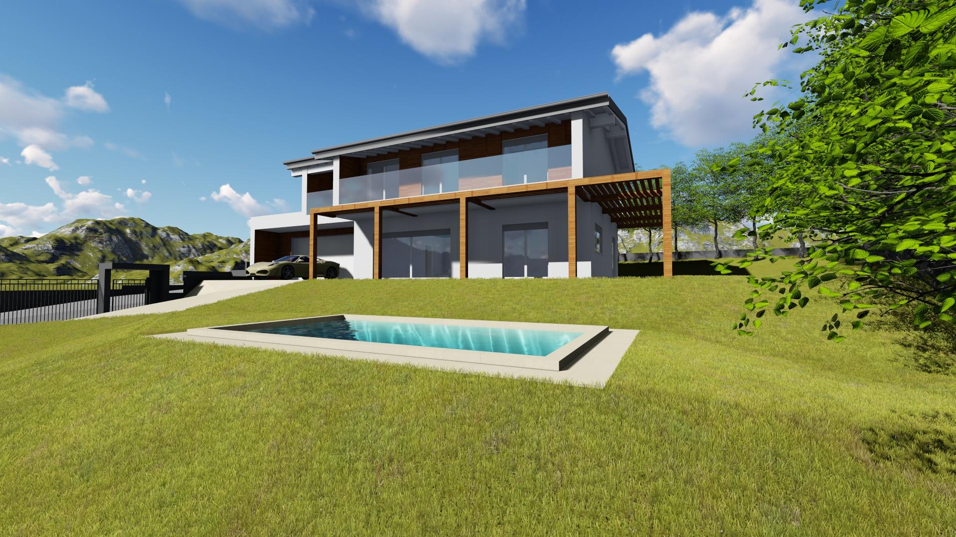 Villa x lam unifamiliare 2 piani bodio lomnago varese for Bloccare i piani domestici